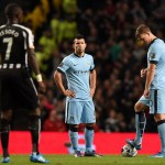 Manchester City slumped to a disappointing defeat against Newcastle United in the Capital One Cup