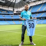Manchester City completed the signing of Nicolas Otamendi from Valencia for a mammoth 33 milion pounds