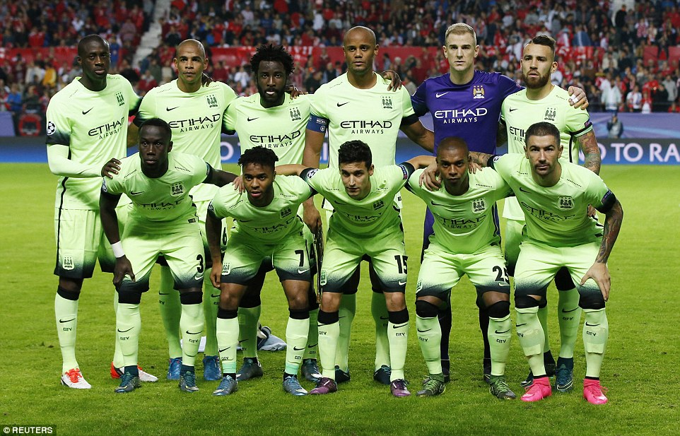 Manchester City beat Sevilla by three goals to one at the Sanchez Pizjuan Stadium in Spain